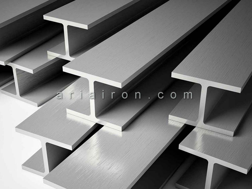 جدول سایز تیر آهن